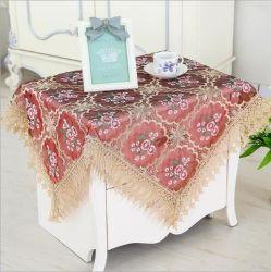 بيضاء أو [أرغندي] حمراء خاصّ بالأزهار طاولة تغطية