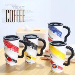 De liga van Sublimatie van de Mok van de Kop van de Koffie van Legenden de Gift Met een laag bedekte schilderde de Ceramische Mok van het Dolomiet