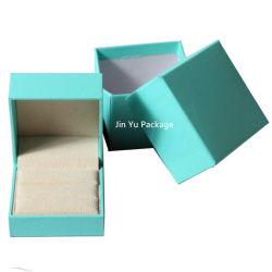 Lindo precioso regalo cajas de embalaje de joyería anillo ocurre con el logotipo personalizado