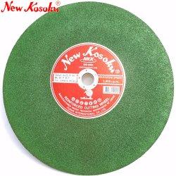Corte verde e roda de corte de aço inoxidável