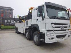 Sinotruk HOWO 8X4 도로 구조차 견인 트럭 복구 트럭