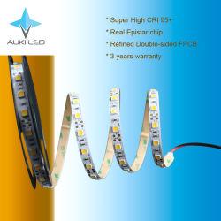 Garantía de 3 años 14,4 W Super alto CRI 95+ tira flexible de LED SMD5050