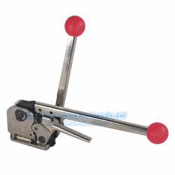Sem travamento manual da ferramenta de cintas de aço