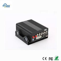 4CH HDD Car Mdvr Kit met GPS en wi-FI van Dual BR Card Supports 3/4G
