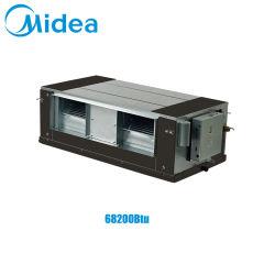Midea Vrfの屋内単位の高い静圧ダクト1段階220-240V 50/60Hz 68200BTU/H 20kwの排気ダクト