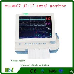 De Goedkope Foetale Monitor van China voor Controle Toco, Fhr, FM met Monitor van /Portable van het Scherm 12 '' de Moeder/Foetale - Mslmp07