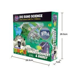Aprovisionamento de fábrica de brinquedos educativos aprender ciência Kit para crianças