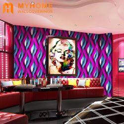 Commerce de gros Guagnzhou Wallpapers 3D métallique moderne décoration maison