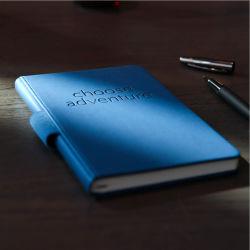 Impresa personalizada repujados en cuero de PU Vintage A5 oficial para el don de la cartera de cuero ecológico Impresión Portátil/Oficina escrito el Bloc de notas