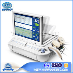 Mars B l'équipement médical oxymètre de pouls à ultrasons Doppler Foetal Moniteur patient portable