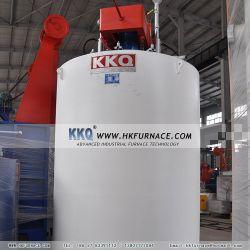 Type de four à gaz de la fosse carbonisage