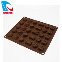 De Vorm van de Chocolade van het Silicone van de fabriek om Heerlijk Voedsel te maken