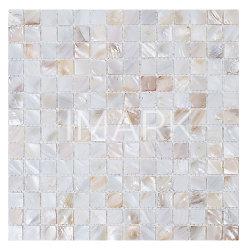 Shell clássico Mop Mosaic Mãe de Pearl mosaicos de cerâmica para banheiro
