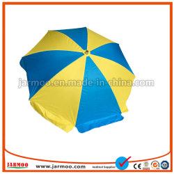 De kleurrijke Paraplu van de Schaduw van de Zon van het Strand van de Druk