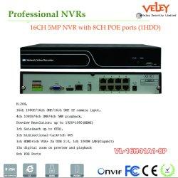 Профессиональный сетевой видеорегистратор видеорегистратор производитель Smart стандарту ONVIF P2p обнаружения движения