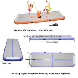 Stuoia gonfiabile materiale di galleggiamento della stuoia 0.9mm Dwf di yoga di Airgym