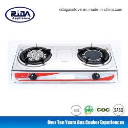 Thailand-populärer 8 Ohr-Infrarotbrenner-Edelstahl-Gas-Ofen-Gas-Kocher