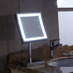 Cuarto de baño de mesa de luz LED de luz LED 5089 Espejo Espejo de aumento espejo de maquillaje de luz LED 5089