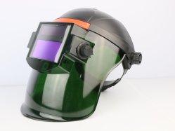 Ajustable automático de soldadura de atenuación de la cara de la protección de la luz de casco Casco Head-Mounted
