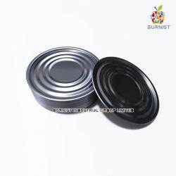 Le fer blanc couvercle 401 (99mm) Effacer l'extérieur de l'extrémité inférieure de la nourriture peut l'emballage