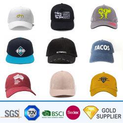 Qualitäts-kundenspezifischer fördernder 3D gesponnener Stickerei-Firmenzeichen-Form-Ineinander greifen-Sport-Golf-Schutzkappen-Sommer-Hysteresen-Leerzeichen-Baumwollbaseballmütze-Hut