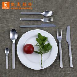 4피스 거울 연마 스테인리스 스틸 칼붙이 서양식 패밀리 과일 포크 테이블 웨어
