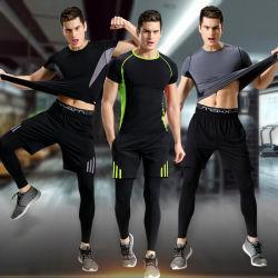 Дышащий Sportwear тренажерный зал работает Скалолазание Pant брюки и верхняя части установки