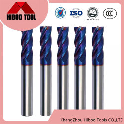 Hot Tungsten HRC65 Solid Carbide End Mill Factory サプライヤ