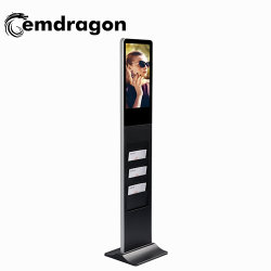 Werbeplayer Board 21,5 Zoll Werbeanzeige Broschürenhalter LCD Digital Signage für Promotionwifi 3G Vedios Hochwertiger Ad-Player Android Displayer