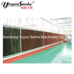 Emissões/Industrial/Animais/Frango House/Avícola montado na parede do sistema de resfriamento evaporativo/cortina de água
