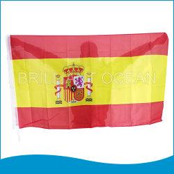 El bordado de poliéster de mostrar la bandera nacional Título Mundial de la Bandera La bandera del país