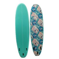 Conception personnalisée Bluebay Noyau en mousse EPS 7FT Soft Surfboard planche de surf pour le surf