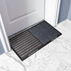 消毒のマットの反紫外線ナイロンAbsorptantのゴム製スプレーによって印刷されるロゴの床の入口の屋内マット