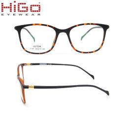 男女兼用型のゆとりレンズのレトロのEyewearの接眼レンズのUltemの光学フレーム