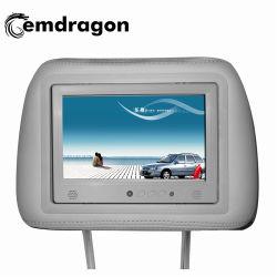 Publicidad apoyacabezas Taxi HD de pantalla de 7 pulgadas LCD Digital Signage Digital SD Android Bus WiFi el reproductor de vídeo caliente LCD LED pantalla táctil de publicidad