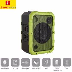 Altavoz de la batería de 10 pulgadas, Plástico, carrito de la caja del altavoz portátil de altavoces BT