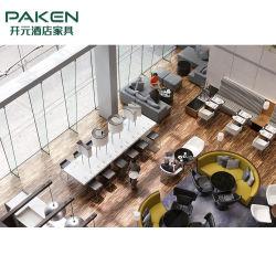 Отель фиксированные мебель фанера внутри шпона / ткани / PU поверхности из натуральной кожи
