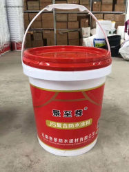 Modificación de polímeros de alta elástico revestimiento impermeable de base de cemento