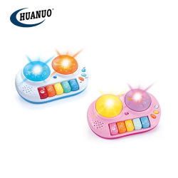 Neues Electronic Organ Musical Toys 5 Musical Keys Drums mit Light