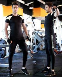 Commerce de gros mâle à séchage rapide antistatique Salle de Gym Fitness d'usure de l'habillement