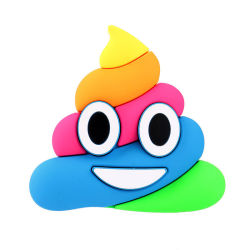 Heißer Verkauf beweglicher Emoji Powerbank 2600mAh Schädel-externes bewegliches Ladegerät (für intelligentes Telefon)