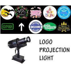 Проектор для использования вне помещений вращения Gobo логотипа торговой марки реклама освещение