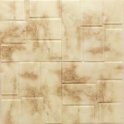 3D el panel de pared autoadhesivos adhesivo de espuma resistente al agua para la decoración del hogar