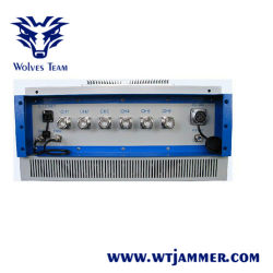 Waterdichte Outdoor 300w Oem Signal Jammer Met Omni-Directionele Antennes Gevangenis Jammer