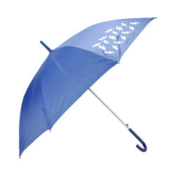 Rayo Auto Manual Abrir Cerrar directamente paraguas con mango de plástico