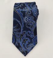 Cores da moda masculina 14mm Jacqaurd Seda Gravata impresso