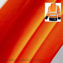 En20471 Hivis ткань 54%хлопок 46%Polyeseter 250 GSM Hi в отношении полицейского, единообразных и куртка, железнодорожных единой коммутируемой сети