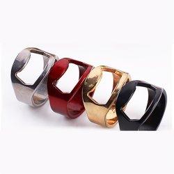 Custom casamento dom criativo em forma de anel abridor de garrafa
