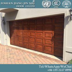 木製カラー自動オーバーヘッド産業部門別のガレージのドア
