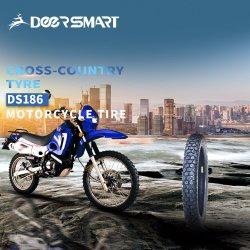 20 ans ISO9001 usine Moto tout terrain professionnel Tubeless Scooter tube/ATV MRF/le pneu en caoutchouc pour l'Afrique 3.00-18 Motorcy Bajaj 2.75-18 DS186